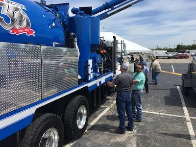 Dallas Equipment Demos Draw Attention