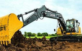 Excavating Equipment - John Deere 160G LC midsize excavator