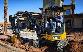 Excavation Equipment - John Deere 35G