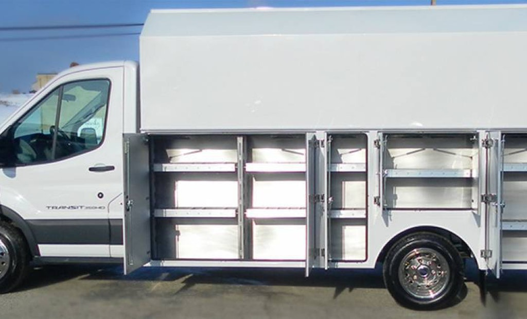 JOMAC Ltd. Introduces All-Aluminum Service Body for the Ford Transit Chassis Cab