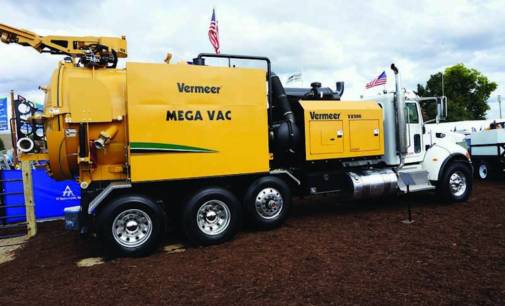 New McLaughlin vacuum excavator can be mounted on any chassis