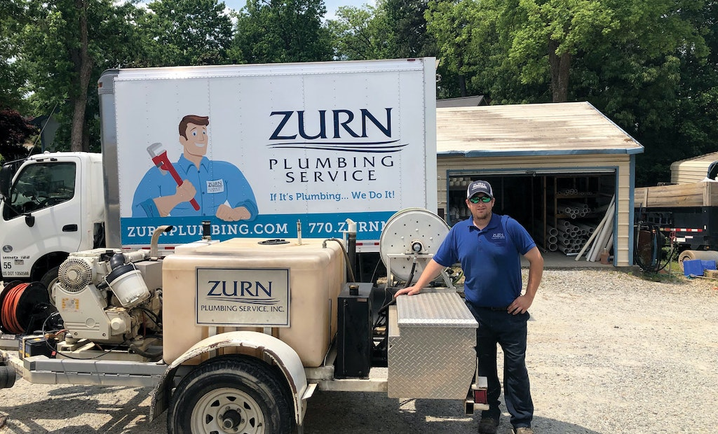 This Jetter Has Never Failed Zurn Plumbing Service