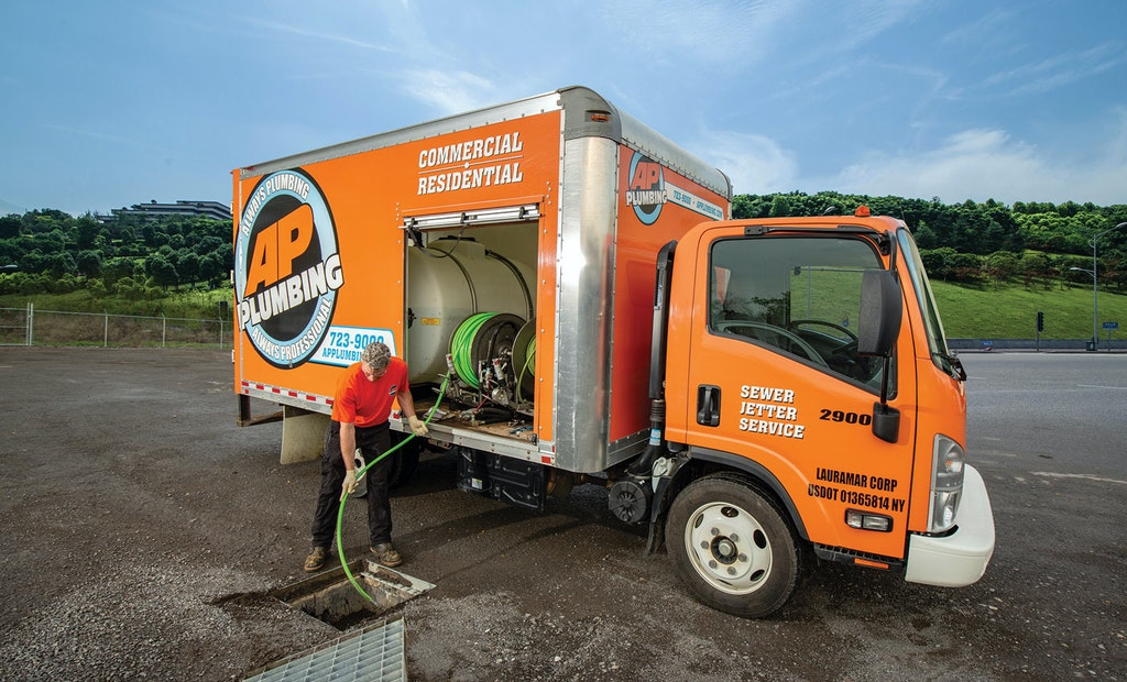 A Custom Jetting Truck Amps Up Productivity for AP Plumbing