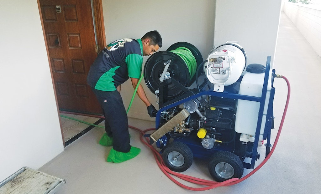 Contractor Sees Great Return on Investment With Powerful Cart-Mounted Jetter