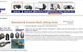 New Website Helps Jetting Customers Choose Proper Equipment