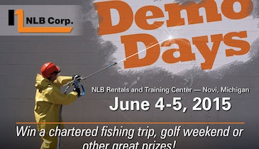 See the Latest Waterjet Equipment at NLB Demo Days