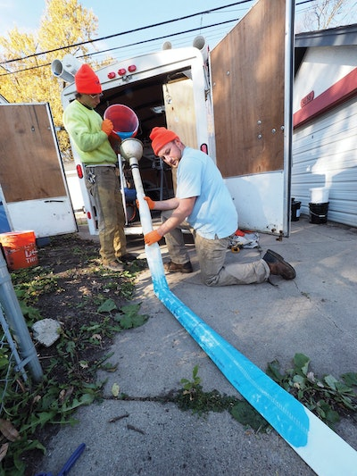 Advice and Investments in Equipment Doubles Revenue for Drain Cleaning Contractor