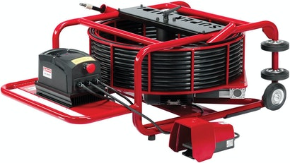 Drain Machines' Pipe-Descaling Ability Key for Company's Pacific Coast Service Area