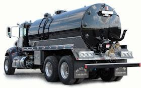 Vacuum Trucks/Pumps/Accessories - Pik Rite steel 3,600-gallon vacuum tank