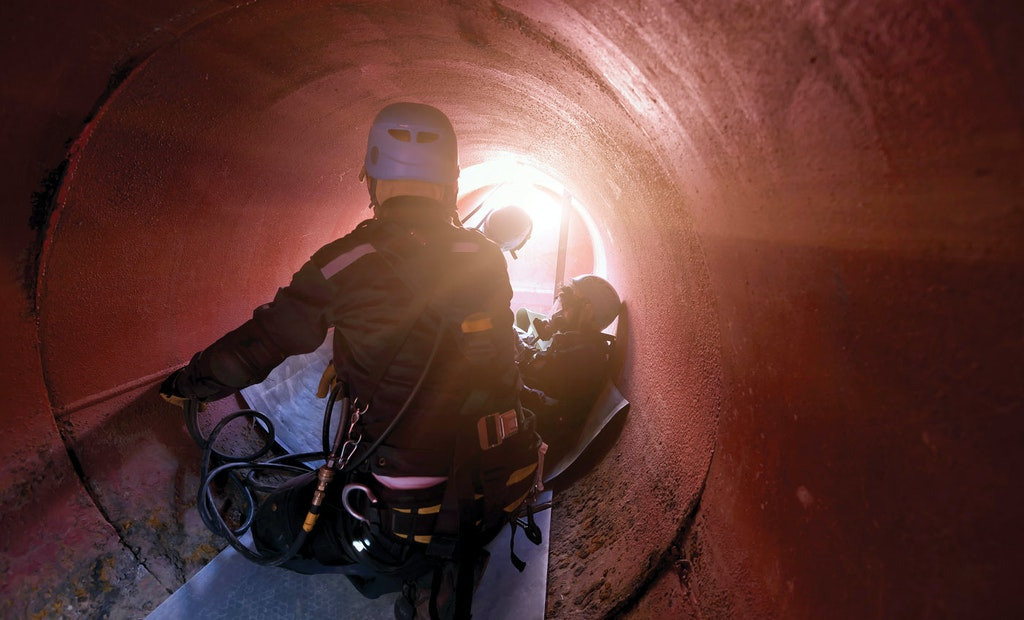 Stay Connected During Confined-Space Entry