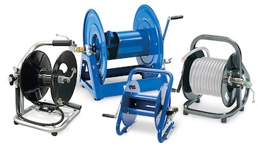 Portable Hose Reels Are an Economical Way to Expand the Capability of Your Jetter
