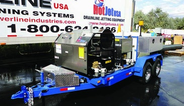 HotJet III Trailer-Mounted Jetter Provides Versatility