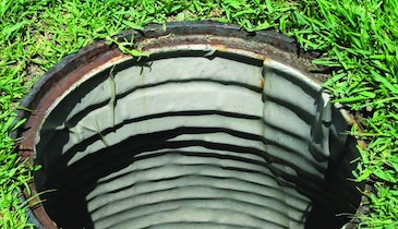 One-Size-Fits-All Manhole Liner Forms Freeze-Resistant, Watertight Seal