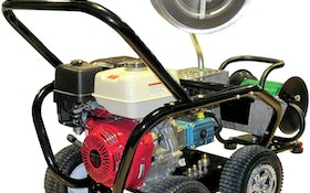 Rugged sewer jetter looks as good as it performs