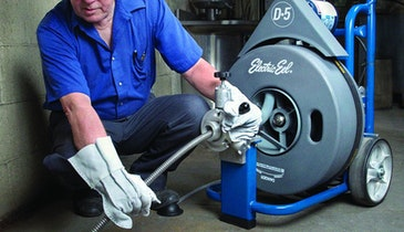 Drain-Cleaning Machine Resists Rust And Corrosion