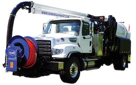 New Sewer Equipment combo unit eliminates auxiliary engine and complicated controls
