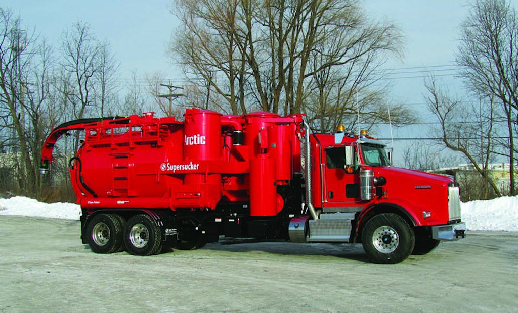 Vac Truck Built For Extreme Conditions