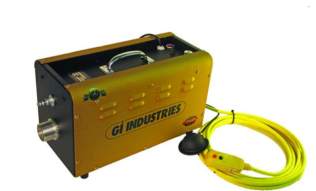 Portable Cleaning Machine Prepares Pipes For Relining