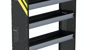 Ranger Design steel shelving for vans