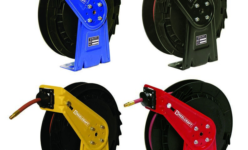 Customize Your Hose Reel With Special Paint Options