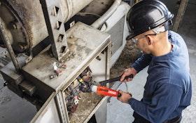 RIDGID manual hydraulic crimp tool