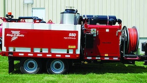 Portable Truck/Trailer Jetters - Ring-O-Matic 550