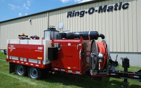 Trailer-Mounted Ring-O-Matic 550 Lowers Cost of Ownership, Increases Versatility
