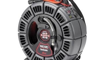 RIDGID SeeSnake Max rM200 Camera System for Easier Inspection of Longer, Tighter Lines