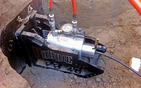 Pipe Bursting Tools - RODDIE lateral pipe bursting machine