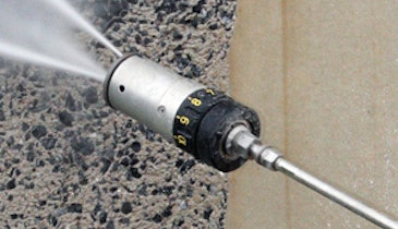 Adjustable Spray Head  Provides Job Flexibility