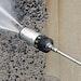 Adjustable Spray Head  Provides Job Flexibility