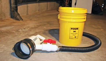 Safety Sewer Drain Simplifies Cleanout Removal