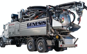 Sewer Equipment GENESIS water recycling sewer cleaner