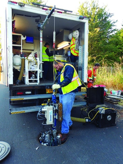 Mainline Sewer Inspection