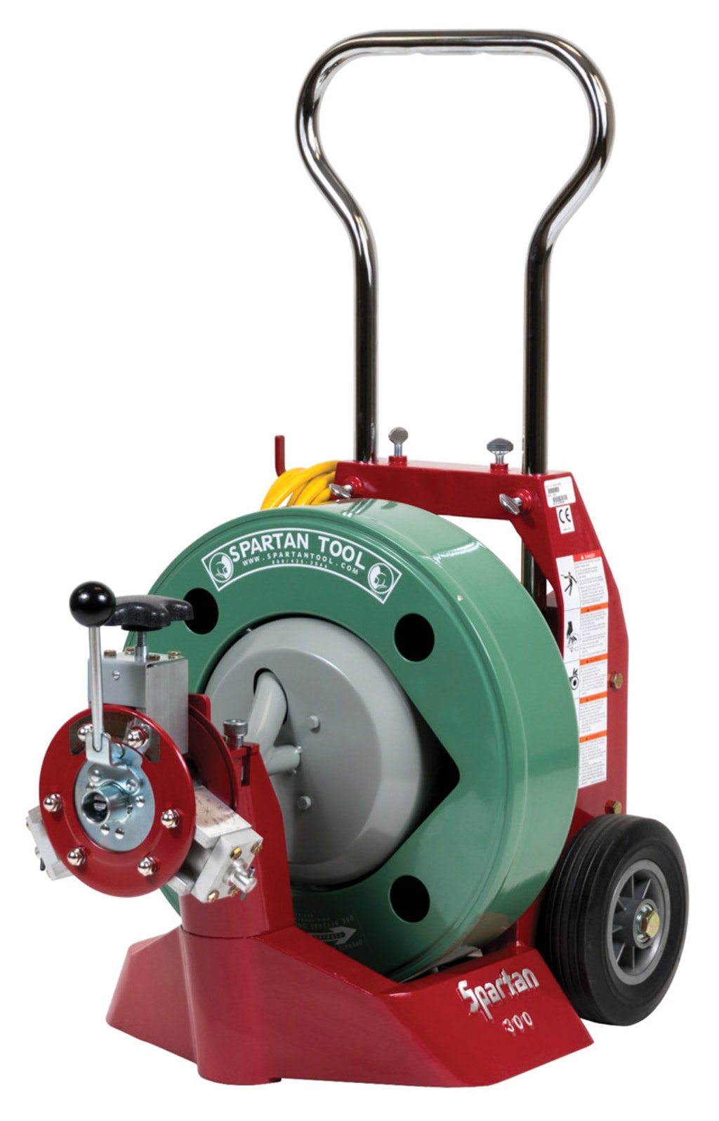 Cable Machines - Spartan Tool Model 300   Cleaner   Spartan 300 Sewer Machine Wire Diagram      Cleaner: Magazine
