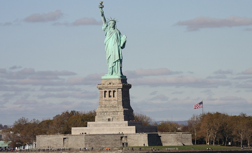 Lady Liberty's Water, Sewer Lines to Get Makeover