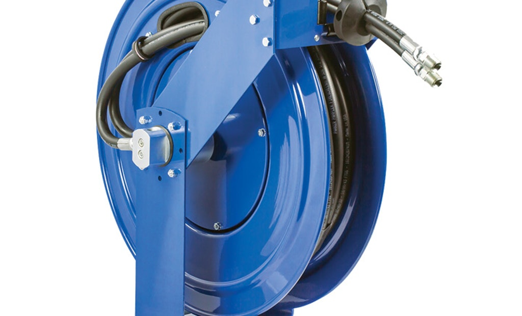 Maintenance simplified with COXREELS dual hydraulic reels