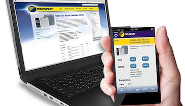 Techspray Introduces New Website and Mobile Site