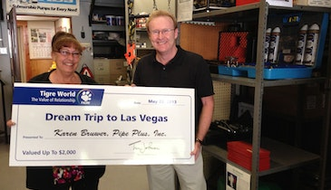 Massachusetts Distributor Wins Las Vegas Trip From Pipe Manufacturer