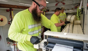 Pipe Repair Contractor Calculates, Plans for Major Growth
