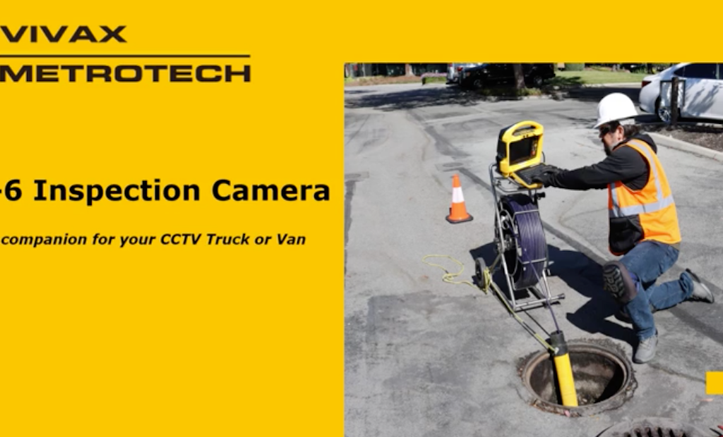 vCam-6: A Push Camera for Mainline Inspections