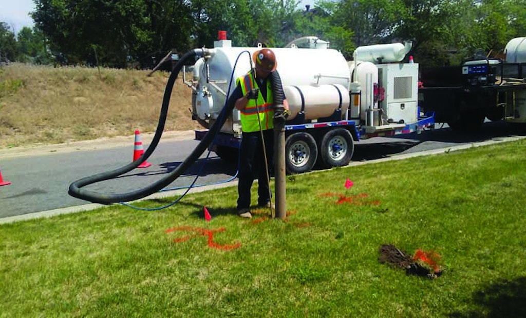 Hydroexcavation in a Small Package