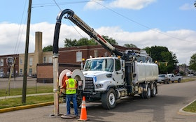 Recycler Option Improves Productivity of Vacall's Jet/Vac Truck Series