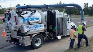 Hydroexcavation - Vactor ParaDIGm