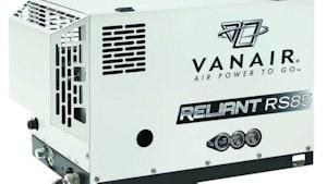 Vanair rotary screw air compressor