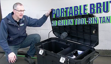 This Toolbox Doubles as a Water Tank for High-Flow Jetters
