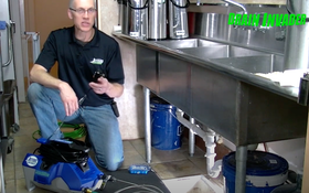 See the New Drain Invader Hand-Carry Jetter in Action