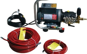 Water Cannon electric jetting package
