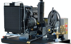 Water Cannon Inc. – MWBEskid-style pressure washer