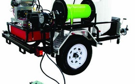 Water Cannon jetter trailer